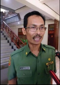 Ir. H. Ahmad Makchul M.Si Kabid Perencanaan Pembangunan Prasarana dan Tata Ruang Bappeda Prov. NTB