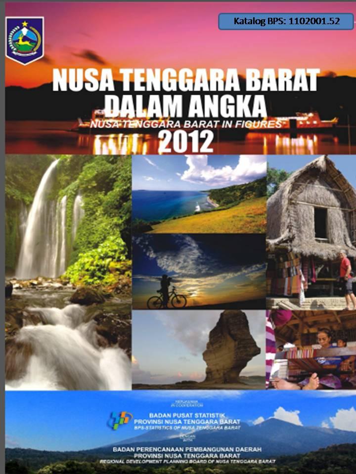 NTB Dalam Angka 2012 Cover Depan