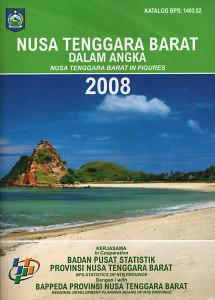 NTB dalam Angka 2008 - Frontcover
