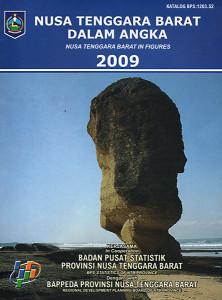 NTB dalam Angka 2009 - Frontcover