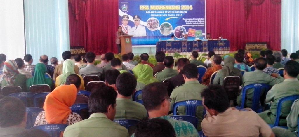 Pembukaan Pra Musrenbang Pulau Sumbawa 20140317