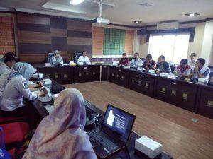BAPPEDA PROVINSI NTB adakan kordinasi dengan Lembaga non pemerintah untuk mendukung SDGs