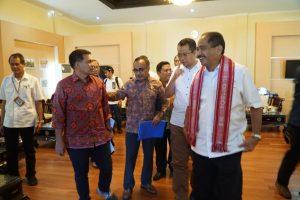 Gubernur NTB mendampingi Menteri Pariwisata dalam kunjungan di Provinsi NTB