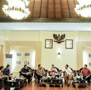 Meeting Integrated Torism Masterplan Lombok