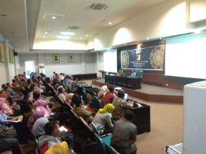 Proses Sosialisasi Aplikasi KRISNA SELARAS Tahun 2019 untuk RKP 2020