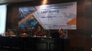 Focus Group Discussion Rencana Zonasi Kawasan Antarwilayah Laut Flores