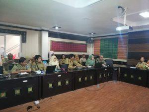 Rapat Asistensi Renstra OPD Lingkup Provinsi NTB Tahun 2019