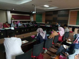 Rapat Koordinasi & Asitensi Penyusunan Laporan Evaluasi Pelaksanaan RKPD & RENJA OPD dengan BAPPEDA Kab/Kota se-NTB